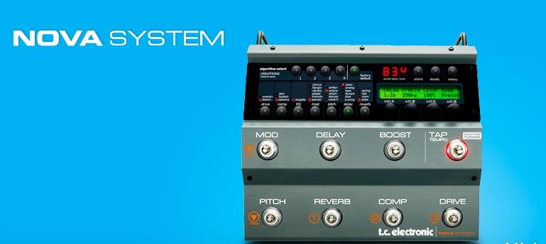エフェクター:TC Electronic NOVA SYSTEMについてのレビュー
