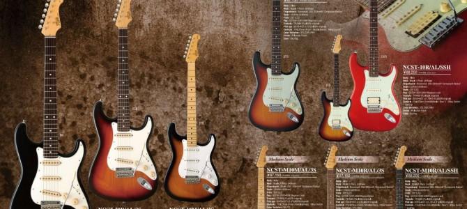 エレキギター Fujigen ストラトのレビュー