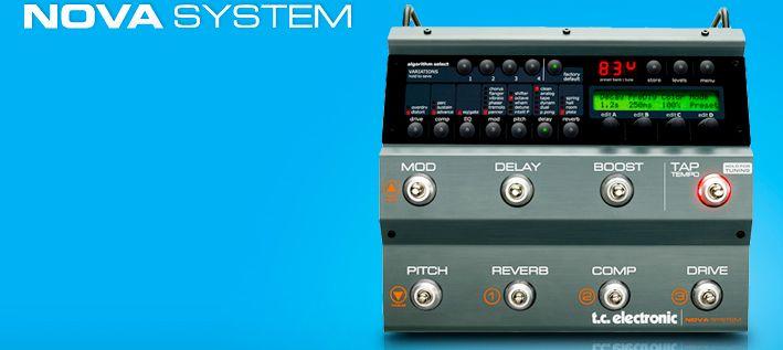 ター:TC Electronic NOVA SYSTEMについてのレビュー