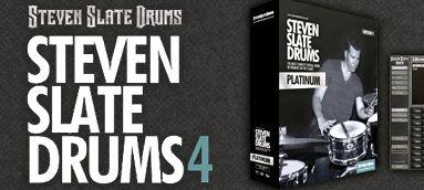 ドラム音源:stevenslatedrums4のレビュー