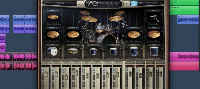 ドラム音源:Addictive drumsについてのレビュー