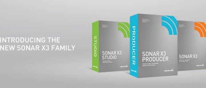 [News] DTMソフト:Cakewalk SONAR X3リリース!