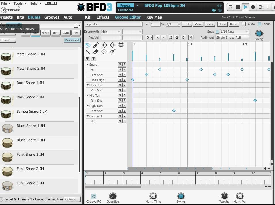 3[レビュー]ドラム音源:FXpansion BFD3について