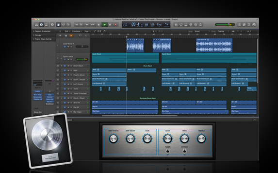 [レビュー]DTMソフト:LOGIC Pro Xについて
