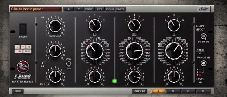 T-RackS CS 4.5 Custom Shopリニューアル&新たに加わるモジュールMaster EQ 432発表