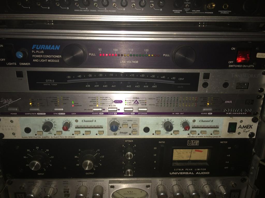 オーディオインターフェイスAPOGEE ROSETTA200のレビュー