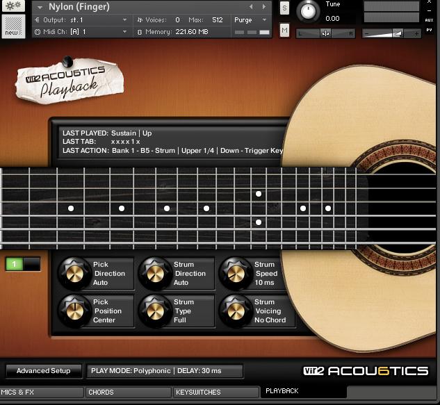 精巧なリアリティを誇るアコースティック・ギター音源『ACOU6TICS』、DL販売開始!