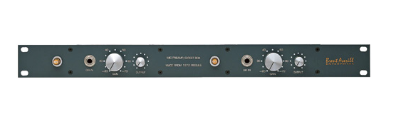 マイクプリアンプAMEK System 9098 DMA のレビュー