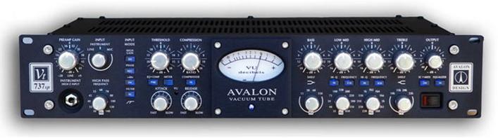 チャンネルストリップAVALON DESIGN VT-737spのレビュー