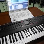 KORG USBコントローラーキーボード taktile(タクタイル)についてのレビュー