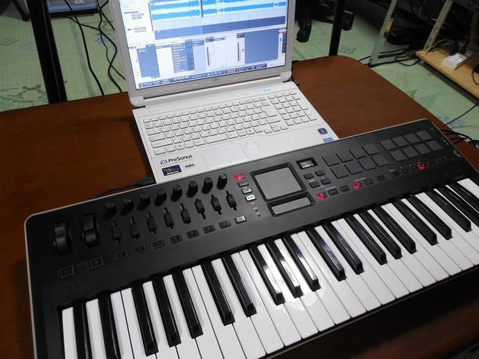 KORG USBコントローラーキーボード taitile(タクタイル)についてのレビュー