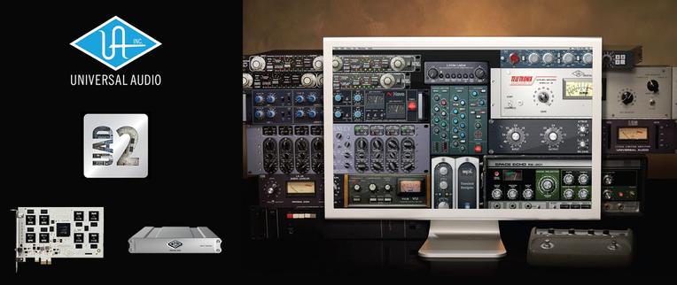Universal UAD-2/Apolloシリーズ付属のソフトウェアバンドルの内容が一新、プラグイン開発パートナーには新たにTC Electronicsが