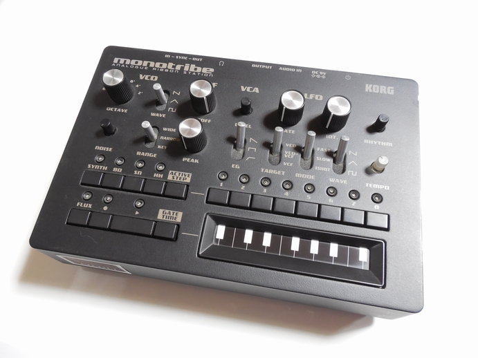KORG monotribe Ver2.1 ANALOGUE REBBON STATIONについてのレビュー