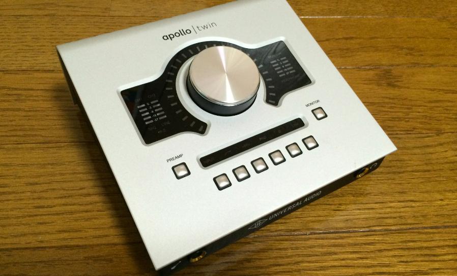 オーディオインターフェイスUniversal Audio Apollo Twinのレビュー