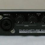 USBオーディオインターフェイスRoland DUO-CAPTUREのレビュー