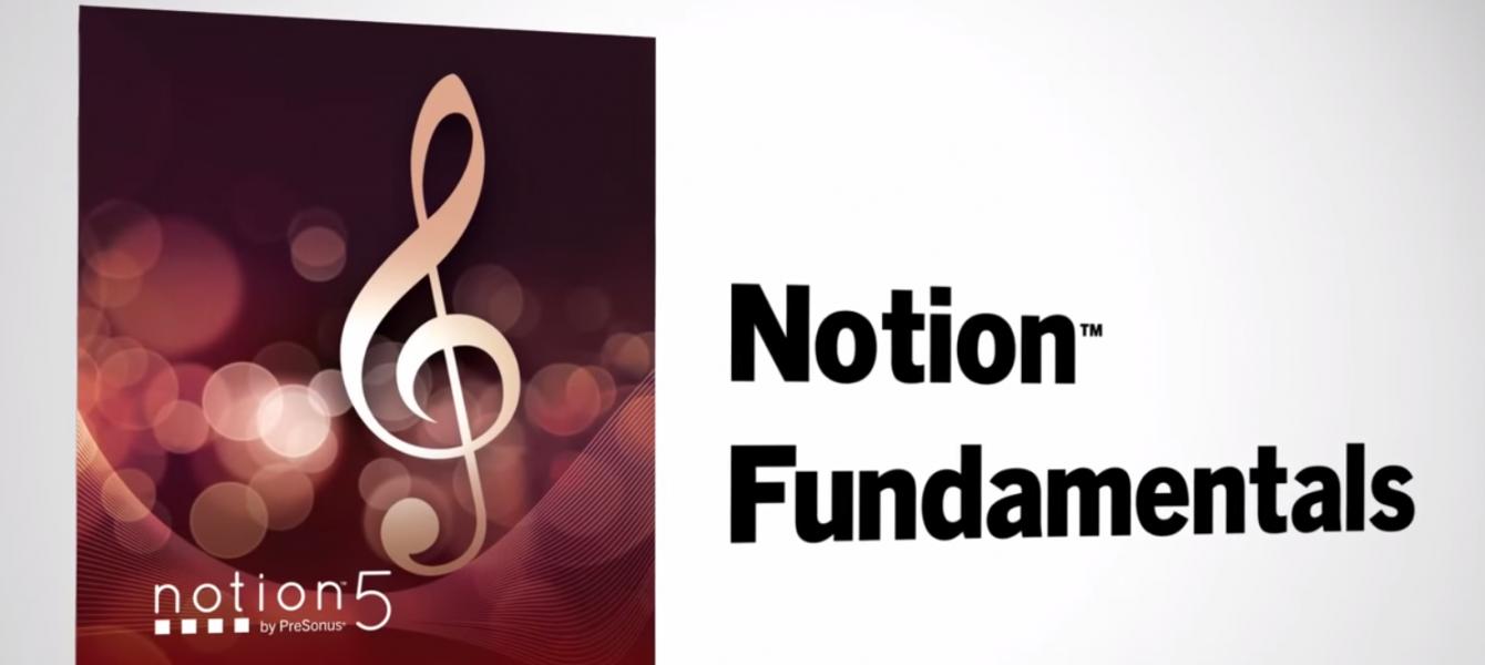 PreSonusからStudio Oneと連動する楽譜作成ソフト「Notion 5 日本語版」発売8