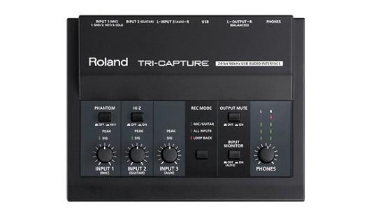 Roland triecaptureのレビュー1