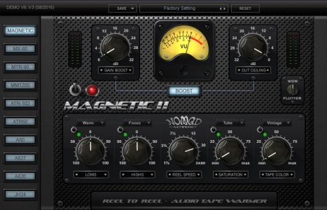 Nomad Factory MAGNETIC IIのレビュー