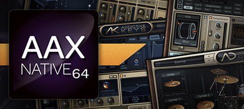 ドラム音源:XLN AUDIO Addictive Drums 64bit版やっとリリース!!!