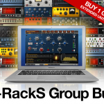 IK Multimedia  T-Rackグループバイ2000人達成!1製品購入で5製品ゲット出来るぞ!