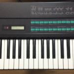 キーボードYAMAHA DX7のレビュー